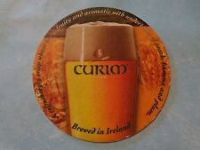 Beer Brewery Coaster <> CARLOW Brewing Co Curim Gold Celtic Wheat Beer ~ IRELAND