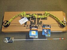 New  PSE Discovery Bowfishing  30-40# RH Yellow with Fingertings,Rest,Arrow