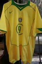 NWT Authentic Nike 2006 Brazil Ronaldo Home Jersey Real Madrid
