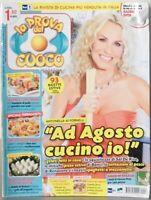 La prova del cuoco Antonella Clerici Gelati fatti in casa insalata di pollo