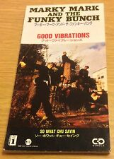 "MARKY MARK AND THE FUNKY BUNCH Good Vibrations CD 3"" Single (Japanese Release)"