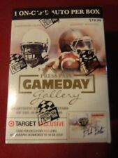 2014 Press Pass Gameday Gallery Football Unopened Box - On Card RC Auto