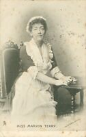 "Miss Marion Terry [Actor] (Raphael Tuck ""Stage Favourites"" series 1048) 1900s"