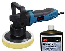 Exzenter Poliermaschine Dino 640200 8mmHub + 1L 3M Schleifpaste Finesse-it 09639