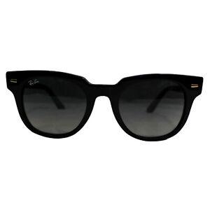 RAY-BAN RB2168 901/71 Meteor Classic Black Sunglasses Gray Gradient Lens