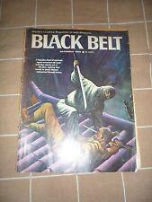 Black Belt Magazine - December 1966 - Famous Ninja Cover