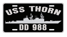 USS THORN DD 988 License Plate U S Navy USN Military 001