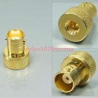 New Gold SMA to BNC adaptor for Yaesu VX-6R VX-7R VX-8R FT-277R VX-8DR VX-8GR
