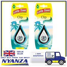 2 X Magic Tree Tropical Clip Little Tree Air Freshener Car Home Freshener