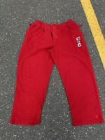 Vintage 90s Platinum Fubu Fat Albert Fleece Drawstring Sweatpants Size XXL