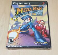 PS2 mega man anniversary collection Sony PS2 us ntsc new factory sealed