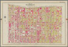 1908 CLINTON HILL BROOKLYN NY PRATT INSTITUTE ST. MARK'S CHURCH ATLAS MAP