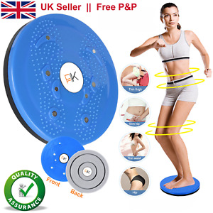 Twist Waist Disc Board Twister Aerobic Exercise Foot Massage Fitness Reflexology