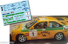 Decal 1:43 Jose Maria Ponce FORD ESCORT COSWORTH Rally Gran Canaria 1993 Winner