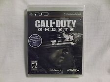 Call of Duty: Ghosts (Sony PlayStation 3, 2013) Unopened Rated M