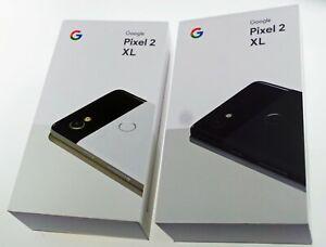 Google Pixel 2 XL Factory Unlocked 64GB / 128GB Smartphone Black / White Great!