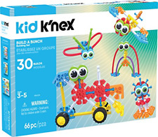 Kid K'Nex – Build A Bunch Set – 66 Pieces – For Ages 3+ Construction