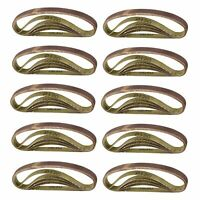 330mm x 10mm Belt Power Finger File Sander Abrasive Sanding Belts