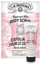 JR WATKINS Sugar & Shea Body Scrub -  Grapefruit Scent - 100% Natural