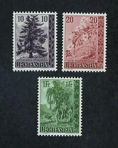 CKStamps: Liechtenstein Stamps Collection Scott#312-314 Mint NH OG