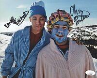 CHRIS PONTIUS & DAVE ENGLAND Signed JACKASS 8x10 Photo Autograph JSA COA Cert