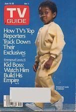 1986 TV GUIDE Emmanuel Lewis of Webster June 14-20