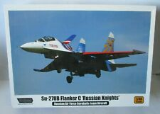 """Wolfpack 1/48 Sukhoi Su-27UB Flanker C """"Russian Knights"""""""
