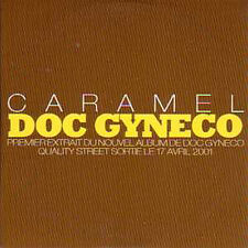CD single DOC GYNECO Caramel Promo 1 Track card sleeve