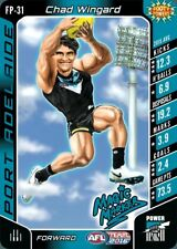 2016 TEAMCOACH CHAD WINGARD PORT POWER FOOTY POWER #FP31 AFL CARD