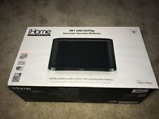 iHome iW1 Airplay Wireless Stereo Speaker System brand new!