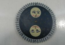 DUTCH CLOCK PART LARGE MOON DISC FOR FRIESIAN TAIL CLOCK 1