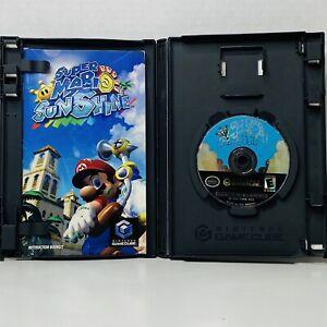 Super Mario Sunshine Nintendo GameCube Console Game Complete Manual Black Label