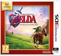 The Legend of Zelda - Ocarina of Time For UK / EU 3DS (New & Sealed)