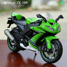 Green MaiSto 1:12 Scale Motorcycle Model For Kawasaki Ninja ZX-10R Superbike Toy