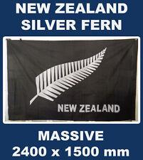 New Zealand Fern Flag 8 x 5 ft Aotearoa Flag