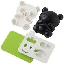 Cute Japanese Bento Accessories Baby Panda Shape Rice Mold & Seaweed Nori Cutter