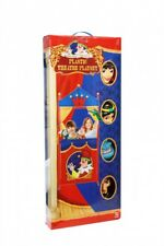 Plastic Puppet Theatre & Large 4 Hand Puppets Set Aladdin Storytelling Playset
