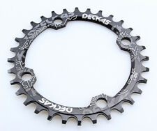 DECKAS 32T MTB Mountain Bike Narrow Wide Round Chainring Chain Ring BCD 104mm