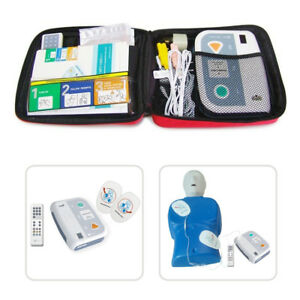 AED Trainer XFT-120C+ First Aid Training Kit Teaching Unit Practice Machine CE