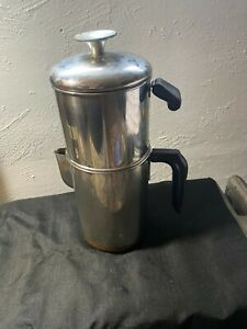 Nice Vintage REVERE WARE 8 Cup Drip-O-Later Coffee Pot Copper Bottom