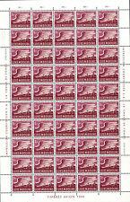 Luxemburg Luxembourg 1945 Flugpostmarken Bogen Sheet 50x 5F.**postfrisch MNH