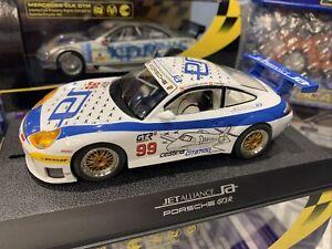 SCALEXTRIC PORSCHE 911 GT3R JET ALLIANCE No 99 White NEW IN BOX C2786