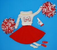 1964 BARBIE CHEERLEADER #876 Complete Ensemble REPRO Vintage Reproduction