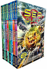 Sea Quest Series 3 and 4 Collection Adam Blade 8 Books Set - NEW
