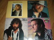 80s Male Country -Lot of 7 LPS- Mel Mc Daniels-T. Graham Brown-Gary Morris-Jim G