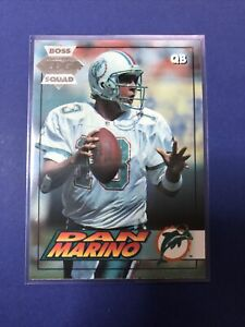 Dan Marino 1994 Collector's Edge Boss Squad Silver #115 Miami Dolphins HOF