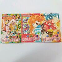 Mamotte! Lollipop Volume 1, 2 and 3 by Michiyo Kikuta (Paperback) - 3 book set