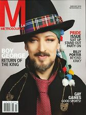 Metrosource LA Magazine Boy George June/July 2014 Pride Issue Kylie Minogue