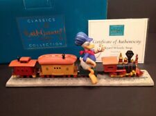 """NEW WDCC Donald Duck """"Backyard Whistle Stop"""" from Walt Disney's Out of Scale COA"""