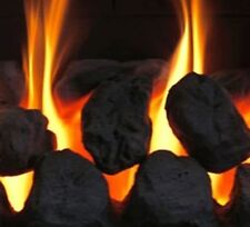 20******* Gas Fire Replacement Coals Ceramic Large Oval Coal